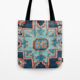 Karabakh  Antique South Caucasus Azerbaijan Rug Print Tote Bag