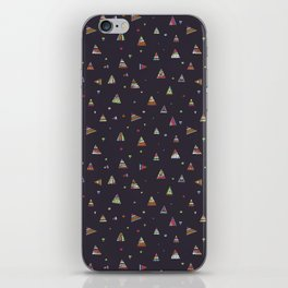 Abstract pattern design iPhone Skin
