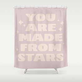 star formed Shower Curtain