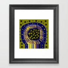 NEURONAL Framed Art Print