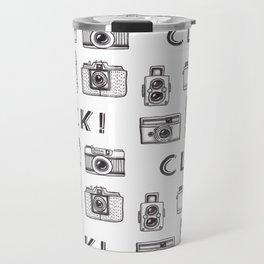 Vintage Cameras Travel Mug