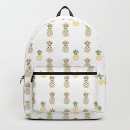 Be like a Pineapple Typography Backpack