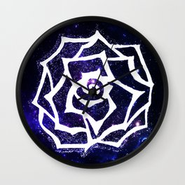 Elysian Bloom Wall Clock