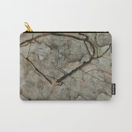 Autumn Tree in Stirred Air (Winter Tree) by Egon Schiele Carry-All Pouch