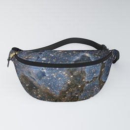 Hubble Goes High Def to Revisit the Iconic 'Pillars of Creation' Messier 16 (The Eagle Nebula) Fanny Pack