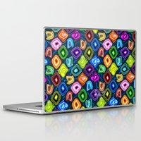 geode Laptop & iPad Skins featuring Geode Delight! by Sylvie Heasman