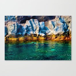 Blue & Green Canvas Print