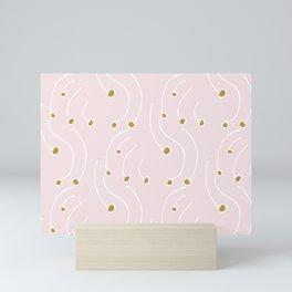 Winter Berry's Pink Mini Art Print