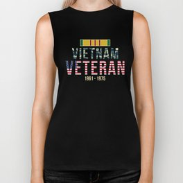 Vietnam Era design Gift for Retired Vietnam War Veteran Soldiers Biker Tank