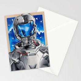 Astronaut Sci-fi Stationery Cards