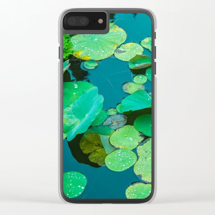 Nenúfares Clear iPhone Case