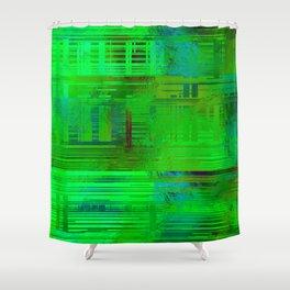 SchematicPrismatic 03 Shower Curtain