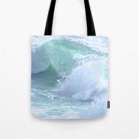 splash Tote Bags featuring SPLASH by Teresa Chipperfield Studios