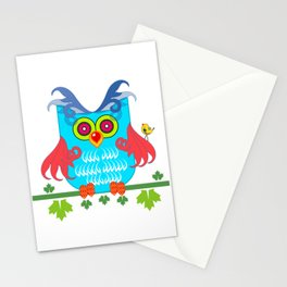 Mr Owl Stationery Cards
