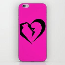 Hot Pink Heartbreak iPhone Skin