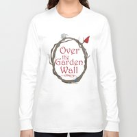 over the garden wall Long Sleeve T-shirts featuring Over The Garden Wall by Tourmaline Design