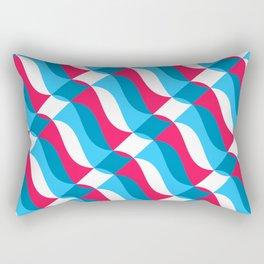 Geofluro #1 Rectangular Pillow