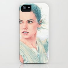 Rey watercolor Slim Case iPhone SE