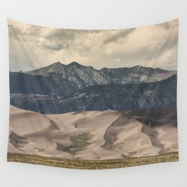 Great Sand Dunes National Park - Rocky Mountains Colorado Wall Tapestry
