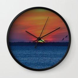Sun Sinking Wall Clock