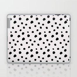 black & very light gray /geometric series Laptop & iPad Skin