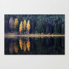 Trillium Lake. Canvas Print