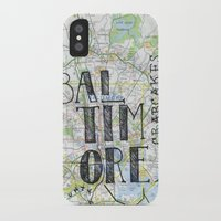 baltimore iPhone & iPod Cases featuring Baltimore by bonjourfrances
