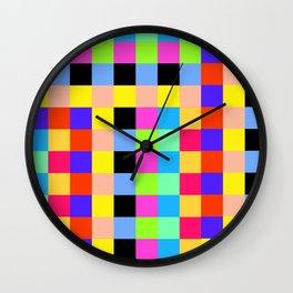 Pattern box Wall Clock