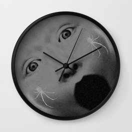 Blackhole Scream Wall Clock