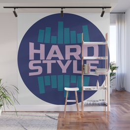 Hardstyle Equalizer | Electro Techno Party Wall Mural