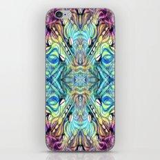 Rainbow Pukkalele iPhone & iPod Skin