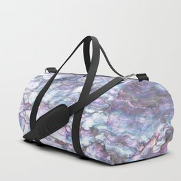Mermaid Shell Beautiful Pearly Surface #decor #society6 #buyart Duffle Bag