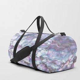 Mermaid Shell Beautiful Pearly Surface #decor #society6 #buyart Duffle Bag
