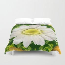 Flower fantasy in nature. Duvet Cover