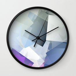 Cubism Abstract 190 Wall Clock