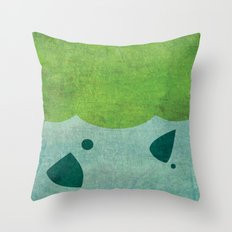 Bulbazaur! Throw Pillow
