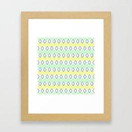 Jager Ruby; Green. Framed Art Print
