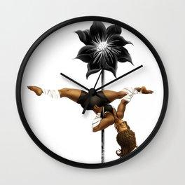 Pennys Shuriken Pole Dance Wall Clock