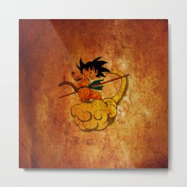 goku and kinton Metal Print