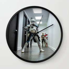 Rexin Power Stance Wall Clock