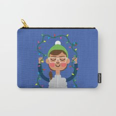 Holiday with Lights Carry-All Pouch