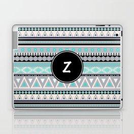 Monogram Tribal Pattern *Z* Laptop & iPad Skin