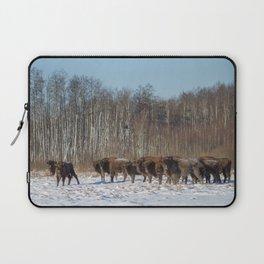 Bison Herd Laptop Sleeve