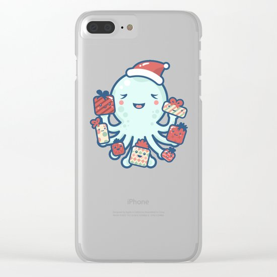 The Gift Giver Clear iPhone Case