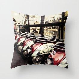 Camden Market - by Cheryl Gerhard Throw Pillow