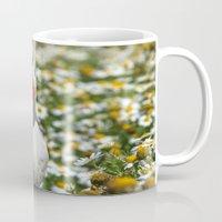 puffin Mugs featuring Atlantic Puffin by Julie Hoddinott