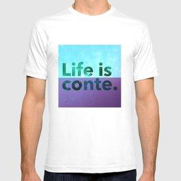 LIC skywalls color T-shirt