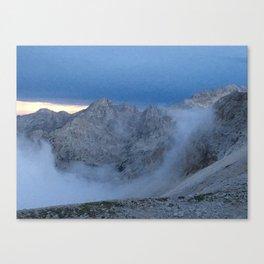 Cloud Curl Canvas Print