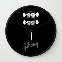 1966 Gibson EB0 Bass Guitar-Headstock-Vintage-Rock Music - Blues Wall Clock