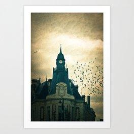 Hotel De Ville Art Print